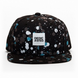 DEDICATED Snapback Dark Drips Farbe: Black